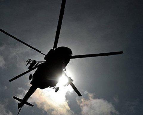 В России упал военный вертолет Ми-8: первые подробности