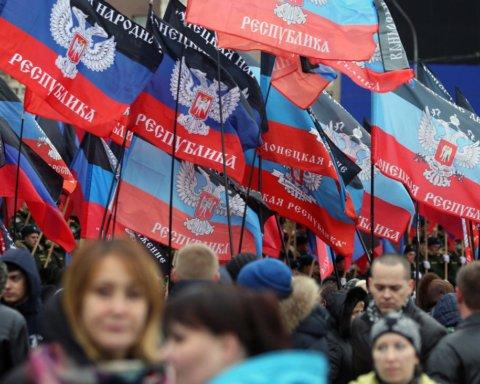 """Зборище недоумкуватих: з'явилося відео присяги дітей """"республіці """"ДНР"""