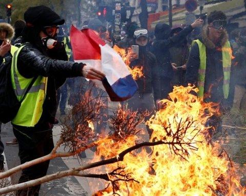 В Париже прошли массовые задержания: что известно