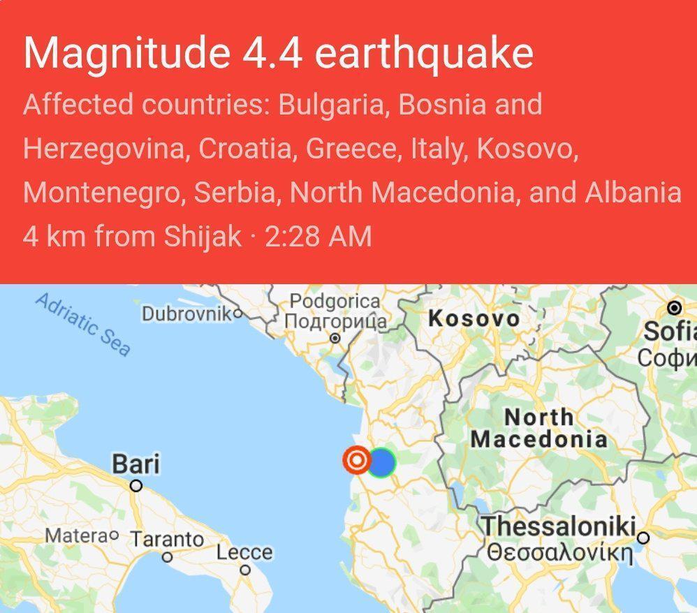 Албанію сколихнув потужний землетрус: в мережі показали наслідки руйнувань