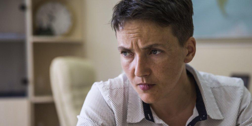 Савченко в інтерв'ю НТВ звинуватила Захід у революціях в Україні