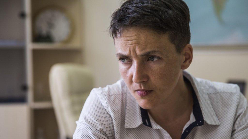 Савченко пригрозила засипати Раду землею