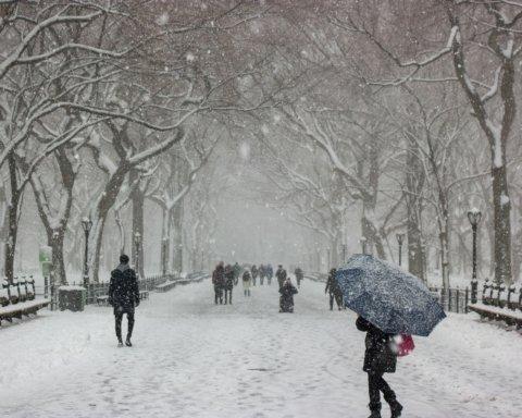 В Украине выпал первый снег: впечатляющие фото