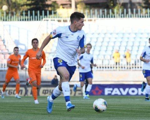 Динамо в добавленное время выгрызло победу в матче с Мариуполем
