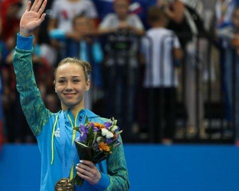 Українські гімнастки виграли повний комплект нагород на Кубку світового виклику