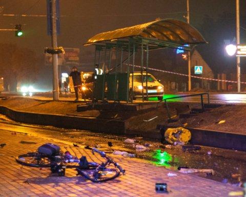Смертельна ДТП з нетверезим копом під Києвом: момент аварії та нові подробиці