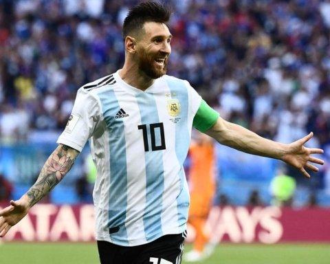 Мессі привітав збірну Аргентини з баскетболу з виходом у фінал чемпіонату світу