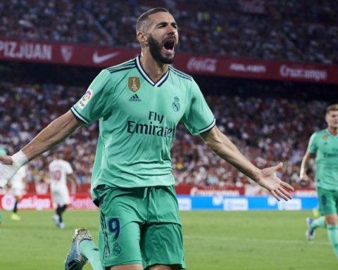 Реал выиграл у Севильи и вышел в лидеры чемпионата Испании