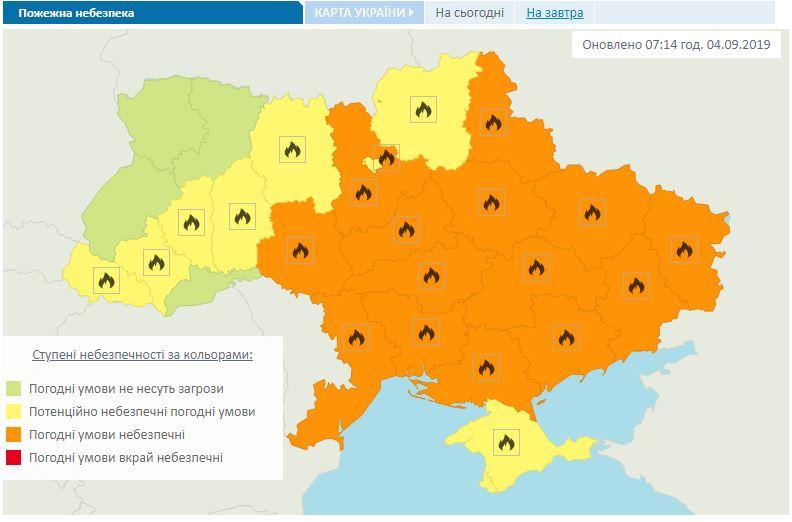 Погода в Украине 5 сентября: кому нужно прихватить куртки и зонты
