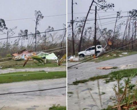 Моліться за нас: у мережі з'явилися кадри руйнувань смертельного урагану «Доріан»