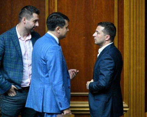 """Разумков раптово покидає пост глави """"Слуги народу"""""""