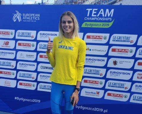 Украинка Левченко с рекордом победила на межконтинентальных соревнованиях