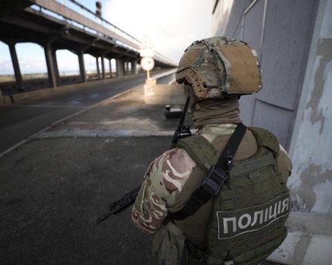 В Киеве заминировали мост Метро: первые подробности с места