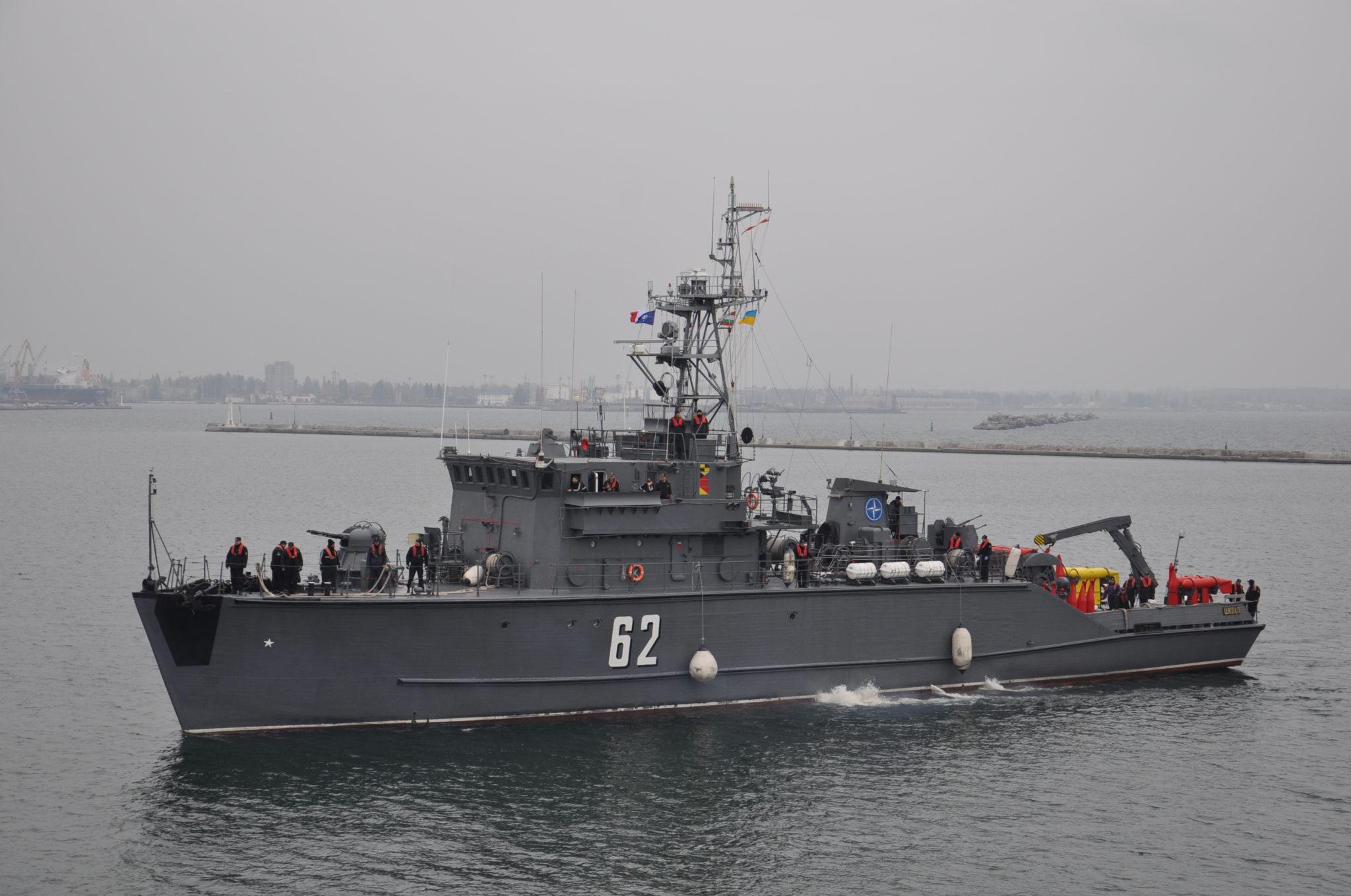 Корабли НАТО прибыли в Одессу: яркие фото