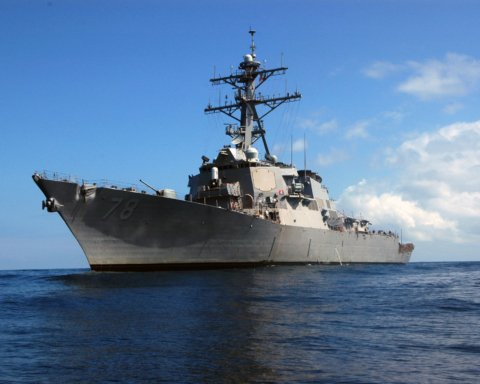 В Черное море вошел вооруженный «Томагавками» эсминец ВМС США