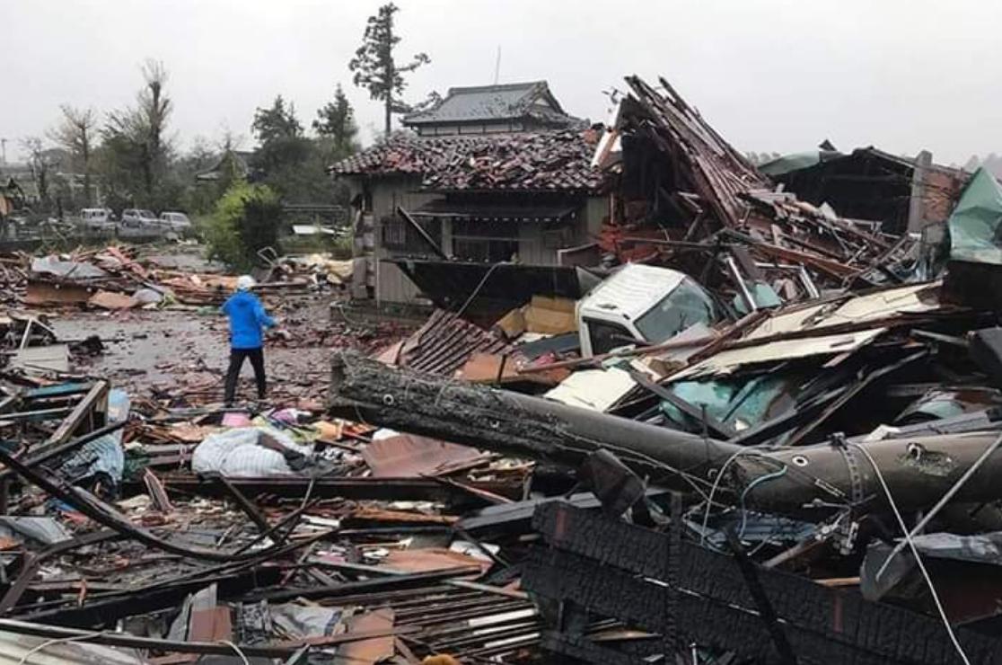 Японию атакует смертельный тайфун Хагибис: десятки жертв