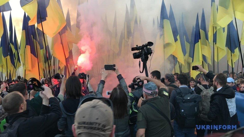 Нет капитуляции: озвучены требования участников акции протеста на Майдане