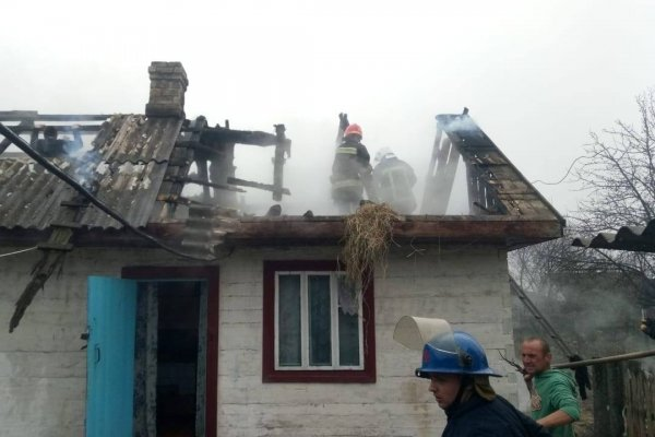 На Рівненщині в страшній пожежі загинула дитина