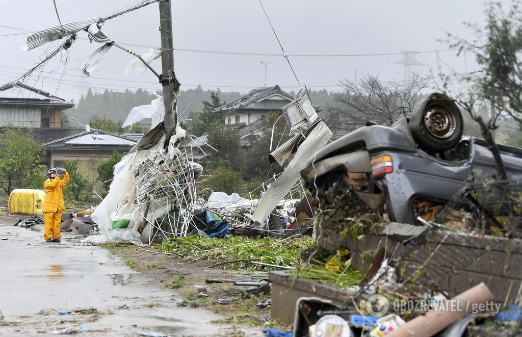 Японию накрыл супертайфун Хагибис, есть погибшие