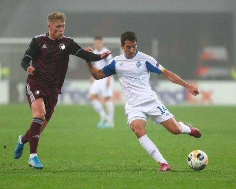 Динамо зіграло внічию з Копенгагеном в матчі Ліги Європи