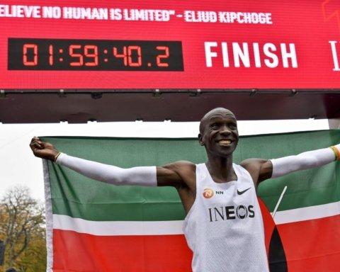 Кіпчоге пробіг марафон менш, ніж за дві години: новий світовий рекорд