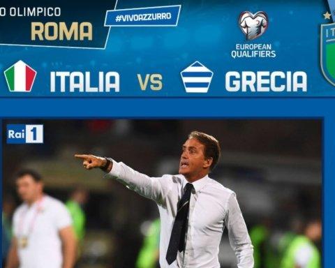 Італія – Греція – 2:0: онлайн-трансляція матчу відбору Євро 2020