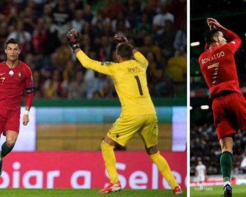 Роналду забил за Португалию супергол: для одних он 699-й, для других 700-й в карьере Криштиану