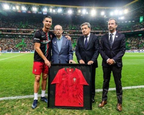 Спортінг збирається перейменувати стадіон на честь Роналду