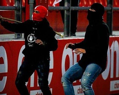 На матче Юношеской Лиги УЕФА произошло жесткое побоище