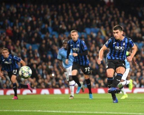 Малиновський забив дебютний гол за Аталанту: українець блискуче зіграв у Лізі чемпіонів проти Ман Сіті