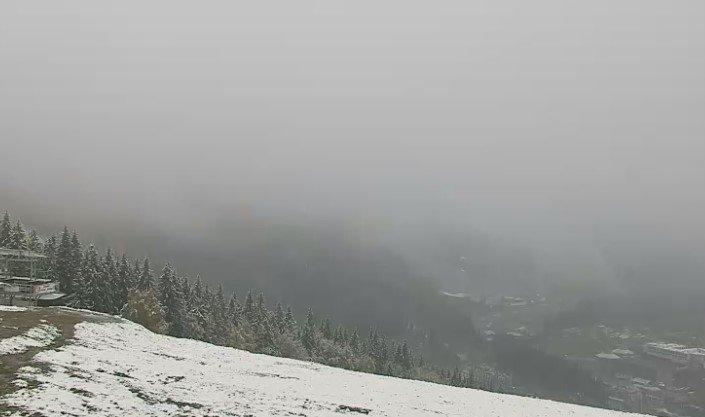 Карпаты замело снегом: потрясающие кадры