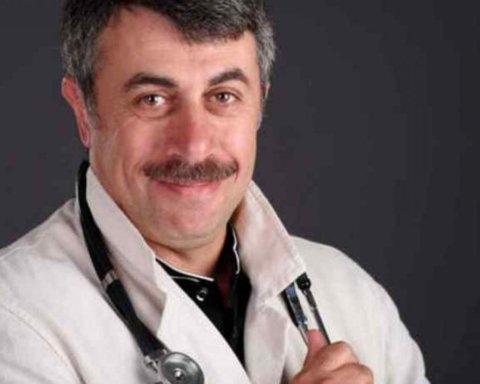 Комаровський дав важливі  рекомендації щодо вірусних інфекцій