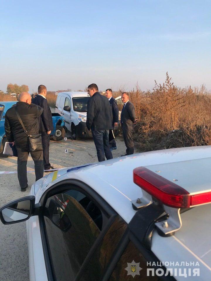 Під Києвом спалахнула перестрілка після ДТП: всі подробиці та фото