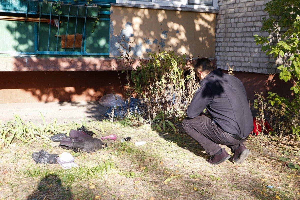 Мертвый мужчина в Киеве - Киевляне три дня ходили мимо трупа