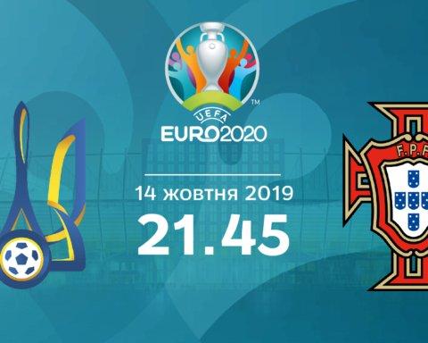 Украина — Португалия: котировки букмекеров на матч отбора ЕВРО 2020