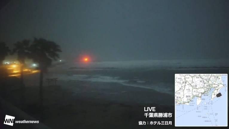 Японию накрыл супертайфун Хагибис: число жертв возросло