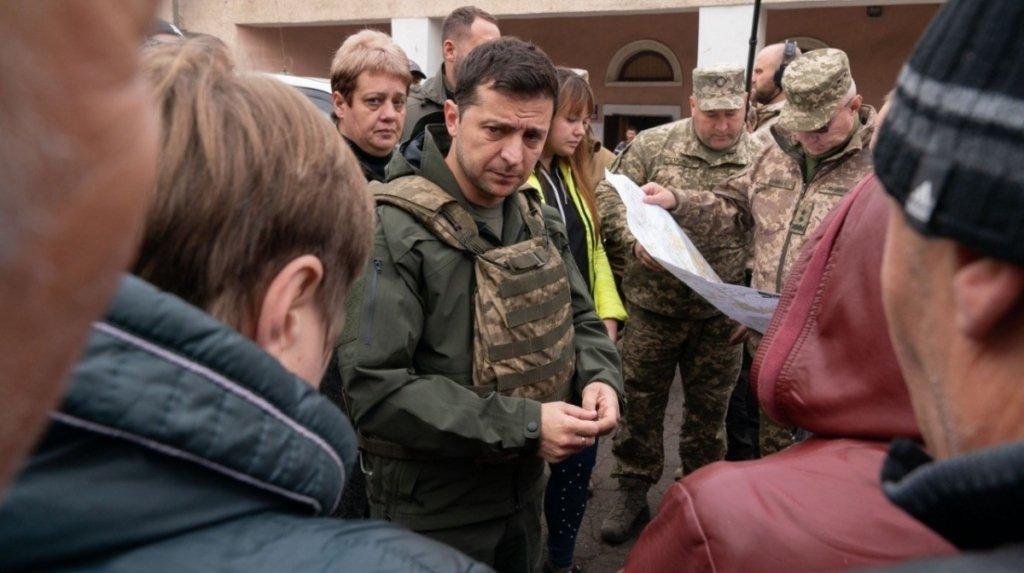 Естонське видання звинуватило Зеленського в ескалації конфлікту на Донбасі