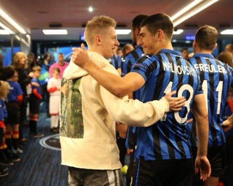 Малиновський став найкращим гравцем Аталанти в матчі Ліги чемпіонів з Ман Сіті