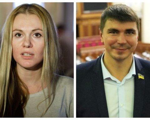 """Нардепів Скороход і Полякова виключили зі """"Слуги народу"""" після скандалу"""