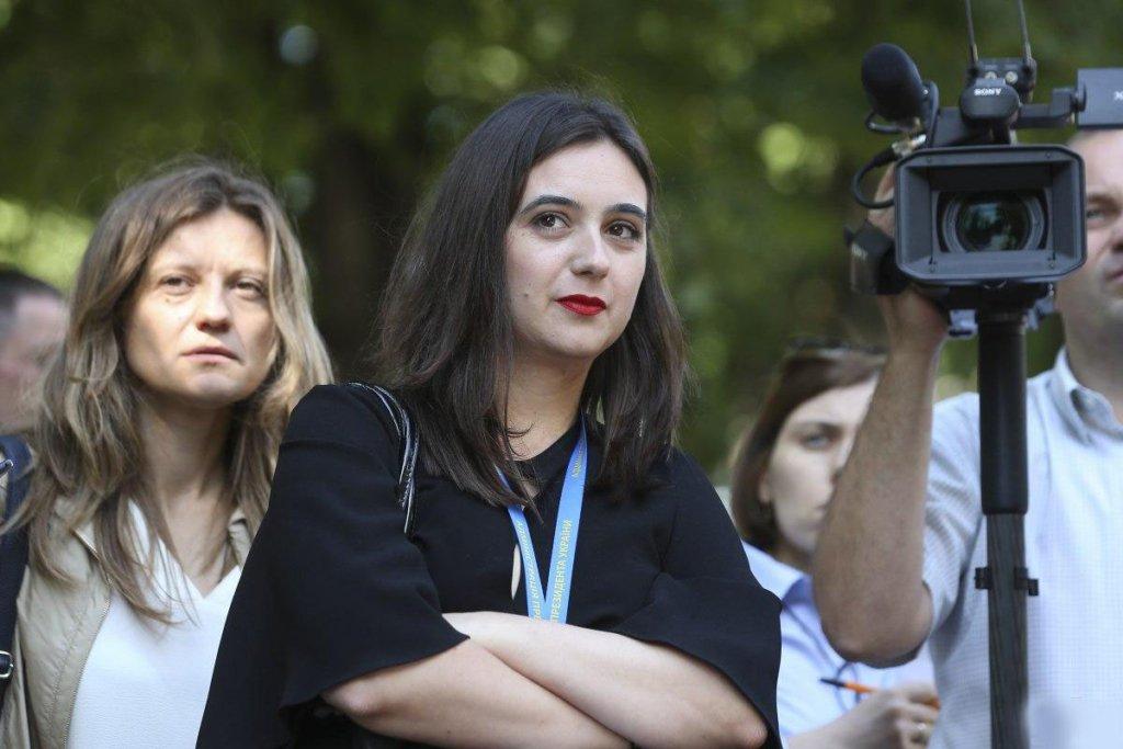 Это, наверное, Бог: Мендель призналась, как стала пресс-секретарем Зеленского
