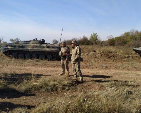 На Донбассе завершилось разведения войск возле Петровского