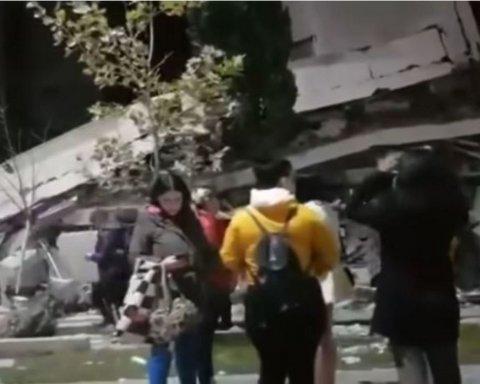 Найсильніше за останні 30 років: у мережі з'явилися кадри моторошного землетрусу в Албанії