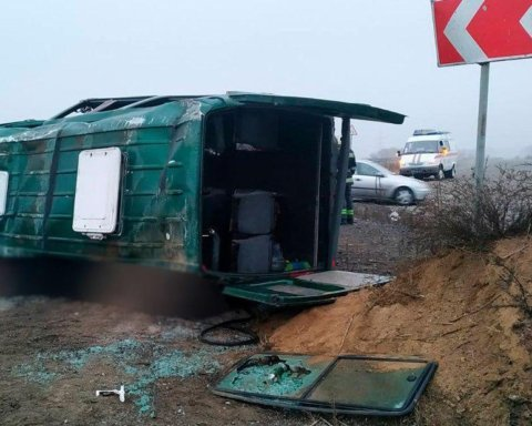 В «ДНР» разбился автобус с людьми: появились подробности и фото с места смертельного ЧП
