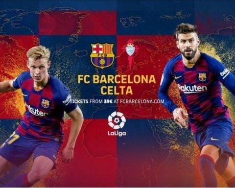 Барселона — Сельта — 4:1: онлайн-трансляция матча Ла Лиги