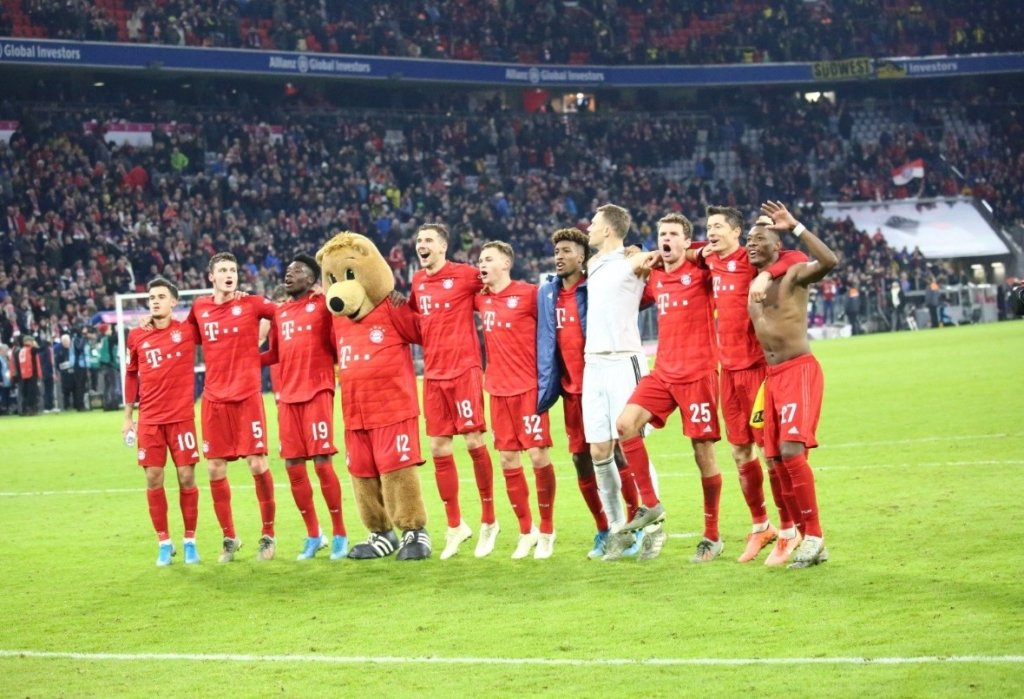 Онлайн трансляция футбола бавария боруссия