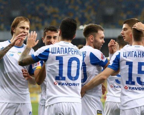 Прем'єр-ліга України: результати всіх матчів 13-го туру