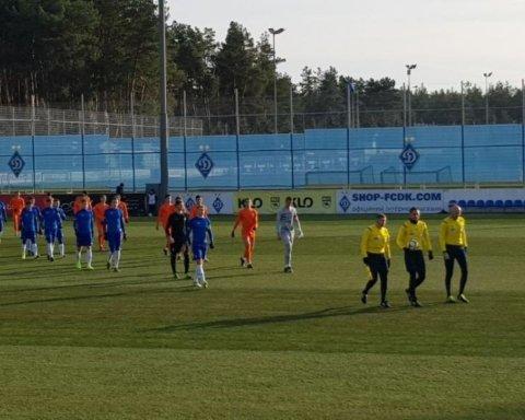 Молодежь Динамо разгромно выиграла у Мариуполя