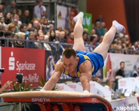 Украинские гимнасты выиграли три золота и одно серебро на Кубке Мира