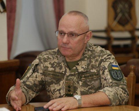Хомчак ушел с должности командующего ВСУ: назван его преемник