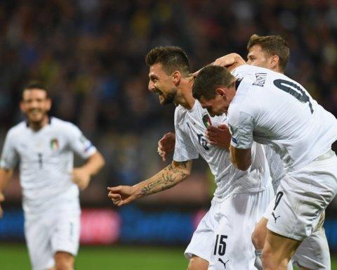 Збірна Італії перемогла боснійців і встановила два рекорди